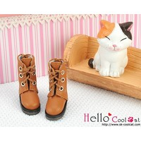 Shoes Short Pale Brown