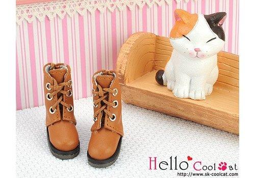 Coolcat Shoes Short Pale Brown