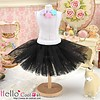 Coolcat Tulle Ball Mini Skirt Black