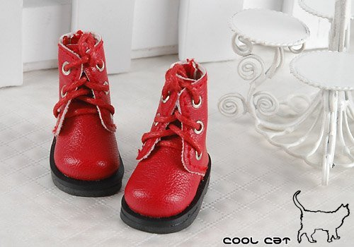 Coolcat Shoes Short Red