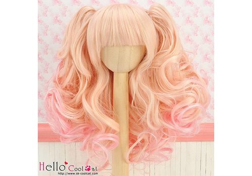 Coolcat Wig Wavy Gold & Pink