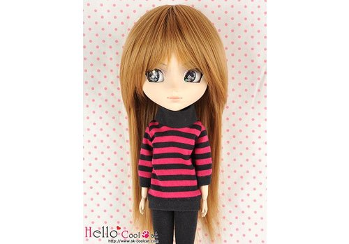 Coolcat Wig Short Straight Tea Brown