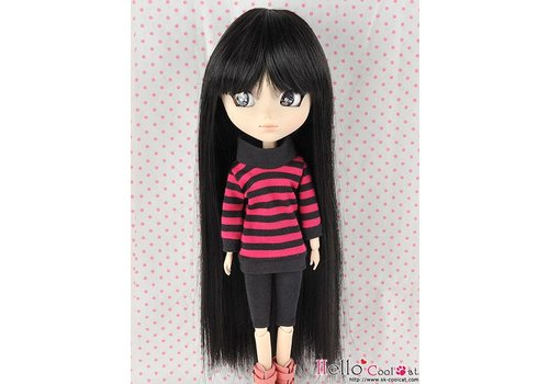 Coolcat Wig Long Straight Black