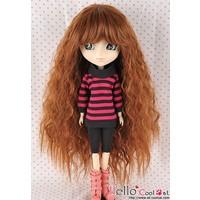 Wig Long Wave Brown
