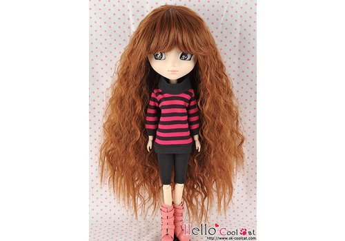 Coolcat Wig Long Wave Brown
