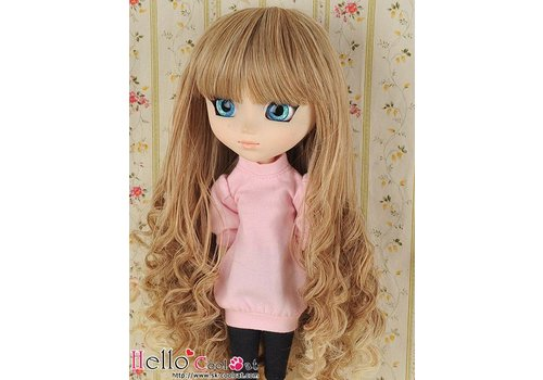 Coolcat Wig Long Wave Pale Gold Mix Gold