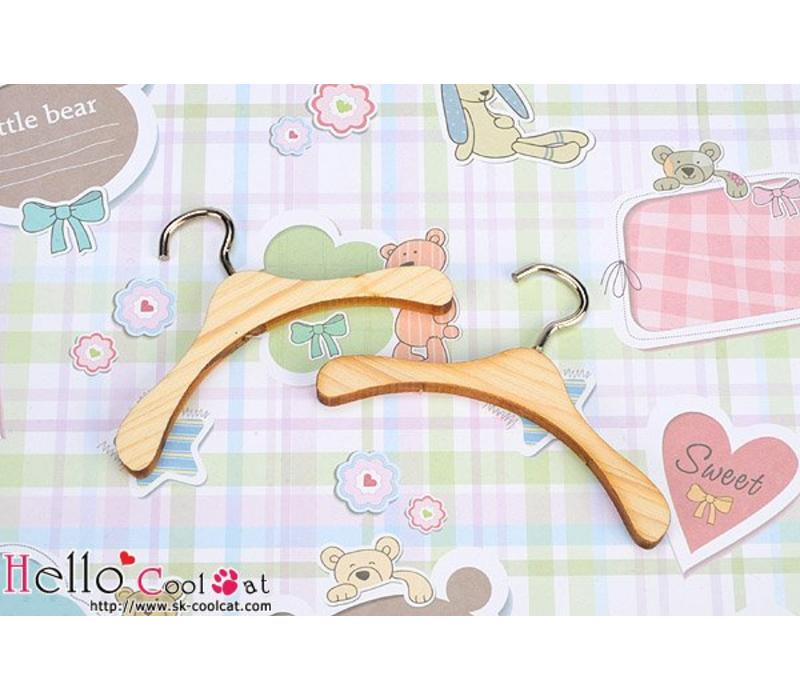 Mini Wooden Clothes Hanger