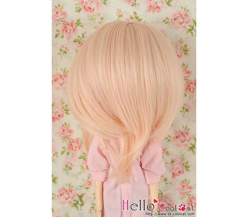 Wig Short Pink Mix Gold