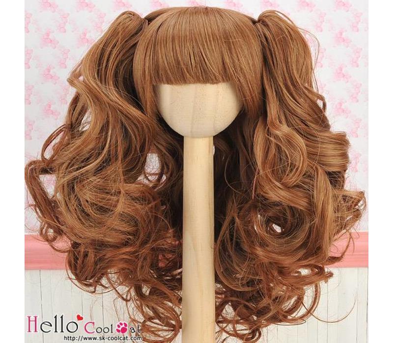 Wig Wavy Brown
