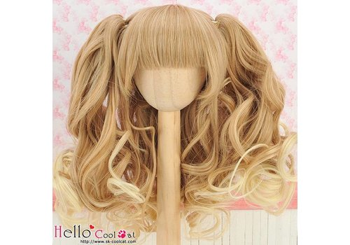 Coolcat Wig Wavy Gold & Pale Gold