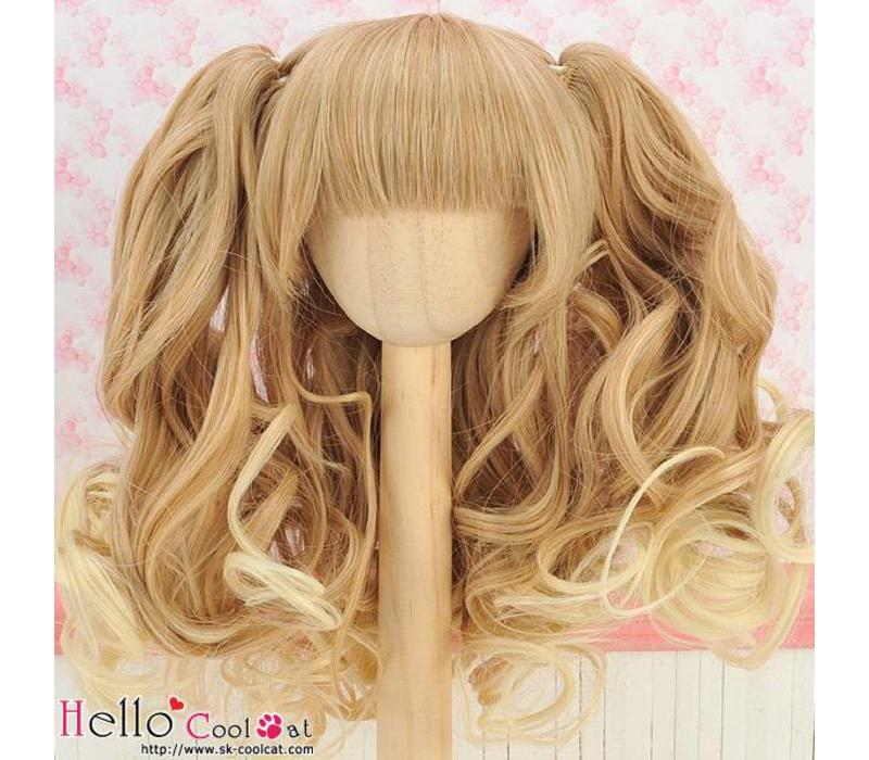 Wig Wavy Gold & Pale Gold