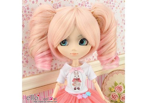 Coolcat Wig Wavy Pink & Sweet Pink