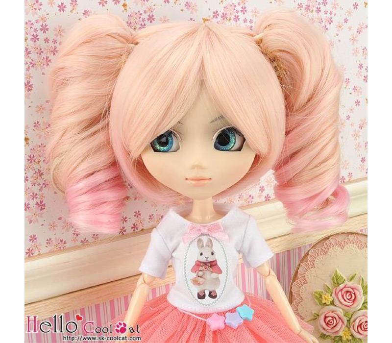 Wig Wavy Pink & Sweet Pink