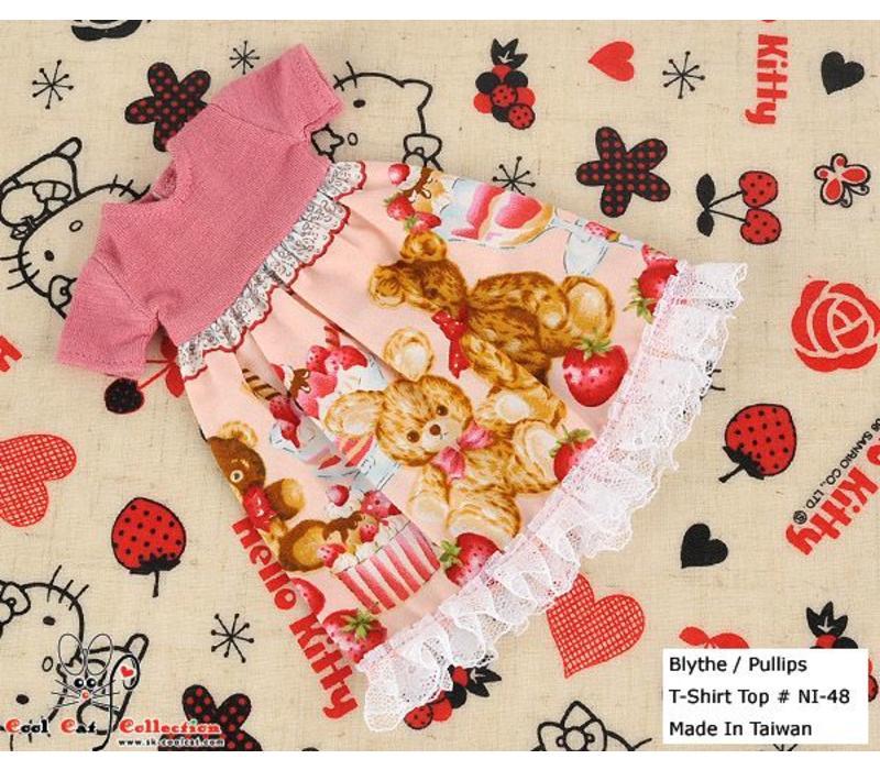 Dress Pink Bear