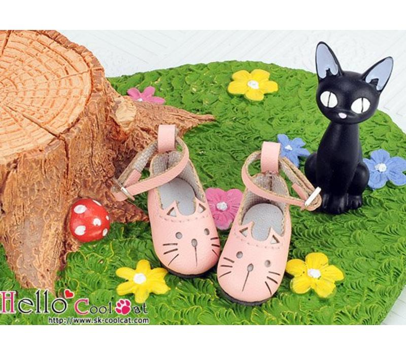 Cute Cats Mini Shoes Pink