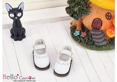 Coolcat Mini Shoes White