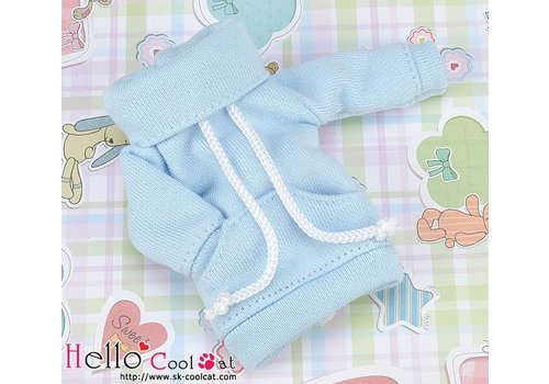 Coolcat Pocket Top Sky Blue