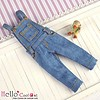 Coolcat Denim Bib & Brace Overalls Blue