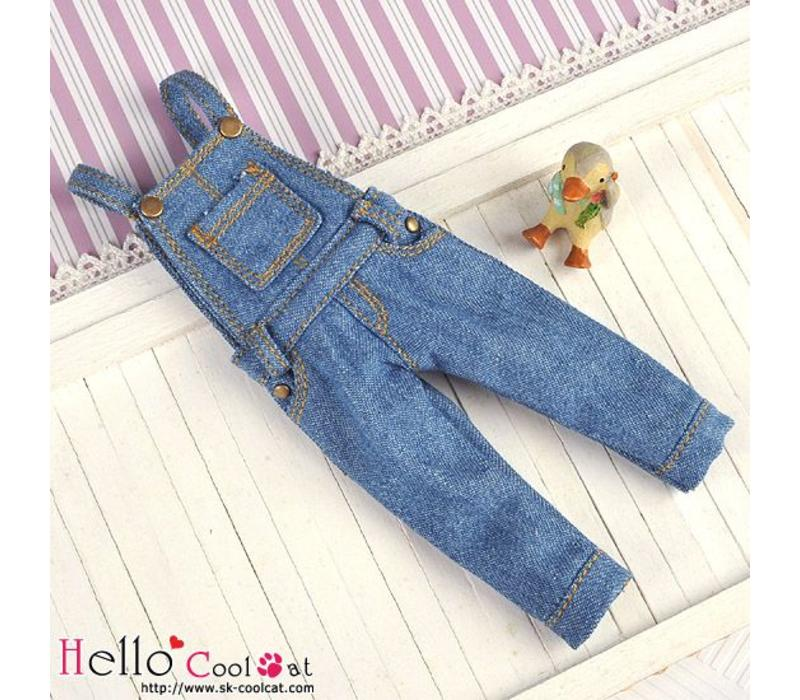 Denim Bib & Brace Overalls Blue