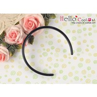 Simple Hair Band Black