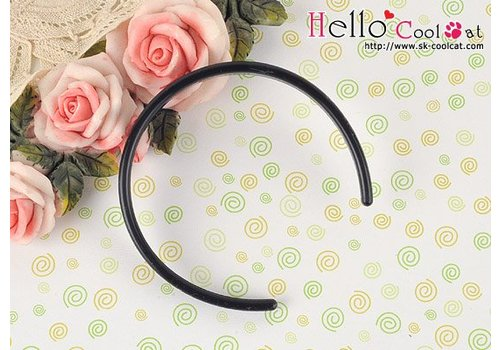 Coolcat Simple Hair Band Black