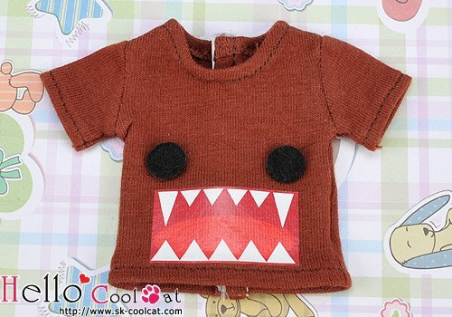 Coolcat Short Sleeve T-shirt Monster Chocolate