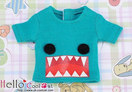 Coolcat Short Sleeve T-shirt Monster Sea Green