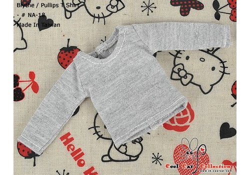 Coolcat Long Sleeve T-shirt Grey