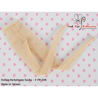 Pantyhose Socks Net Beige