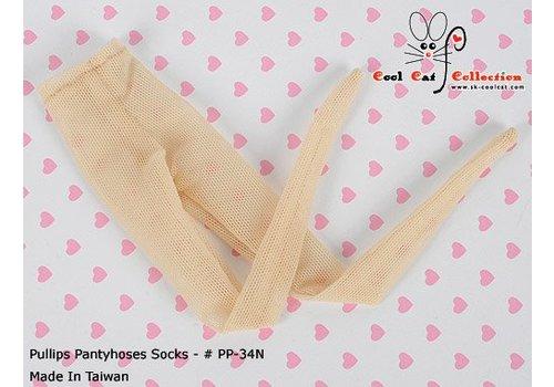 Coolcat Pantyhose Socks Net Beige