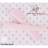 Knee Lace Socks Pale Pink
