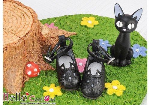 Coolcat Cute Cats Mini Shoes Black