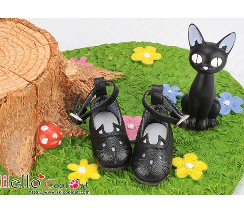 Cute Cats Mini Shoes Black