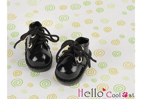 Coolcat Shoes Mini 2 Holes Shiny Black