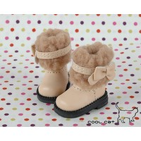 Boots Beige