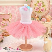 Tulle Ball Mini Skirt Hot Pink