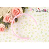 Simple Hair Band Sweet Pink