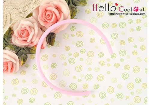Coolcat Simple Hair Band Sweet Pink