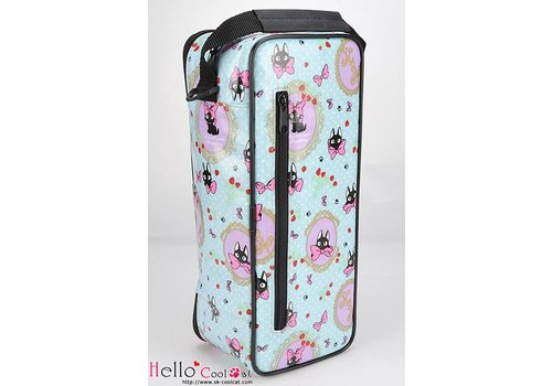 Coolcat Carrier Bag Bow Kitty Cats Blue