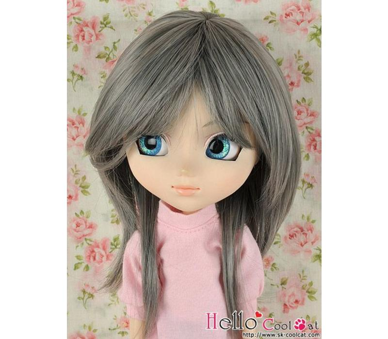 Wig Short Pewter