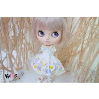 Secret Flower Dress White Daisy