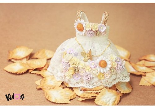 Kuloft Secret Flower Dress Butterfly