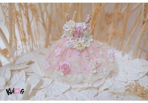 Kuloft Secret Flower Dress Pink Flowers