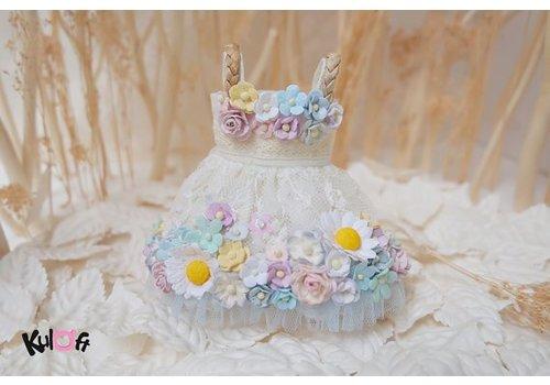 Kuloft Secret Flower Dress Blue Daisy