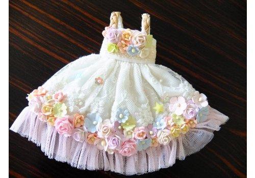 Kuloft Secret Flower Dress Purple Tulle