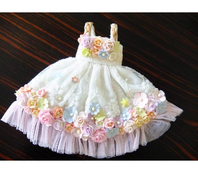 Secret Flower Dress Purple Tulle