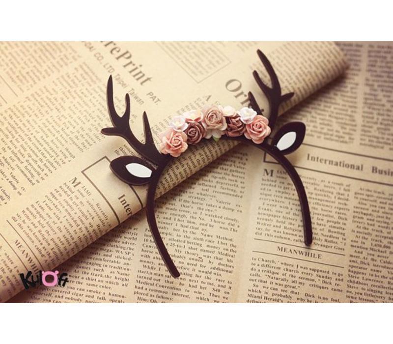 Hairband Deer Brown