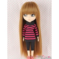 Wig Long Straight Brown