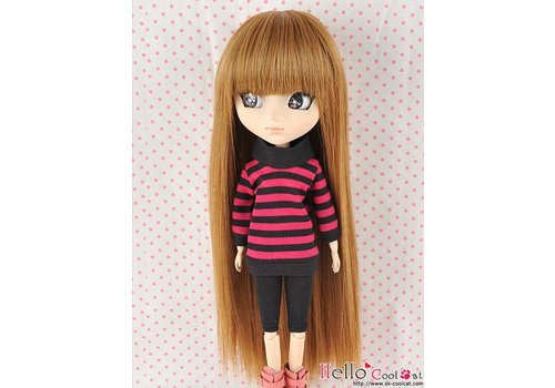 Coolcat Wig Long Straight Brown