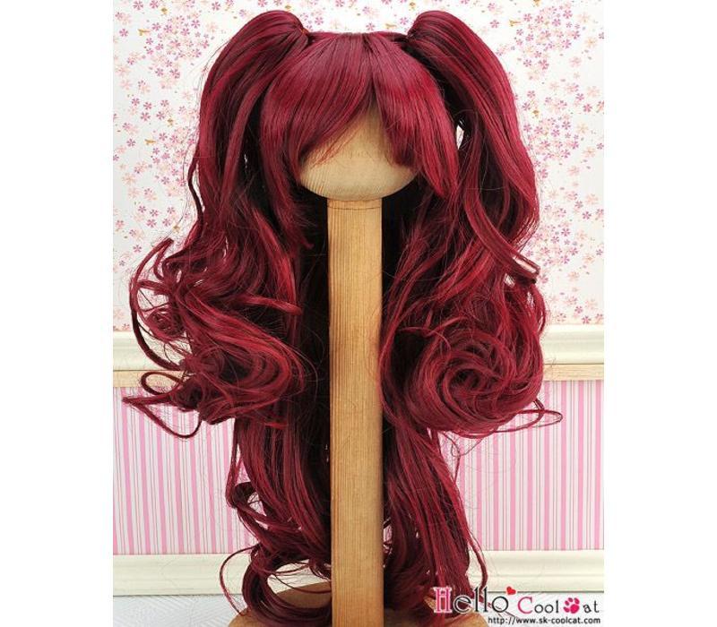 Wig Wavy Red Wine